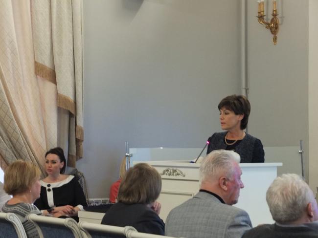 Генеральный директор ОАО «Большой Гостиный двор» Елена Коршунова. Фото: Алёна Кузнецова