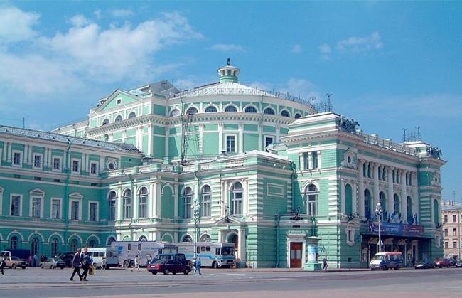 Историческое здание Мариинского театра сегодня. Фото: www.mariinsky.ru