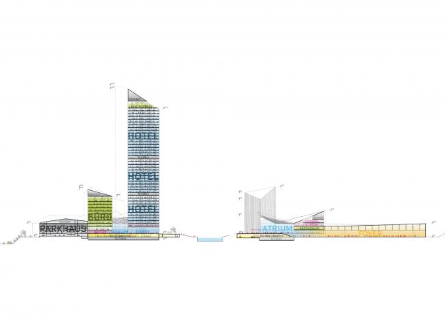 Гостиница Estrel Tower © Barkow Leibinger