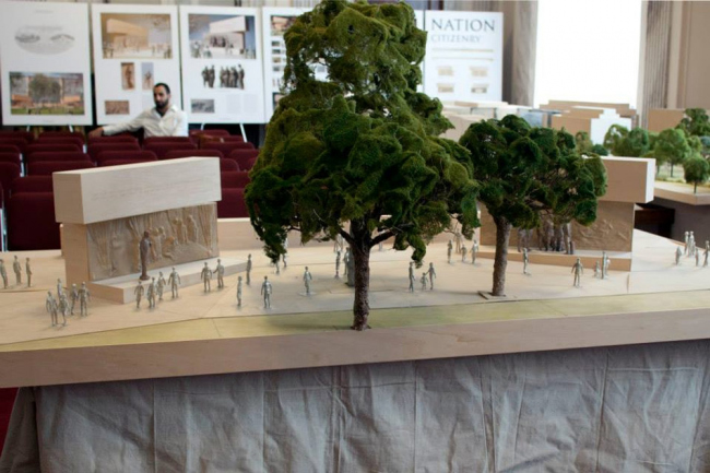 Мемориал Дуайта Д. Эйзенхауэра. Проект 2013 г. Предоставлено Eisenhower Memorial Commission