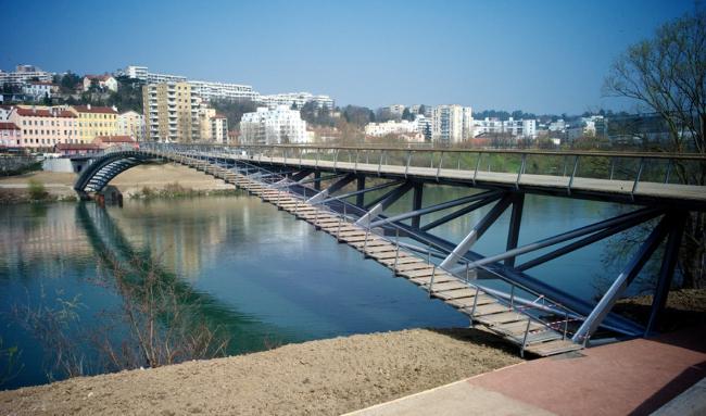 Пешеходный мост де ла Пэ © Jose Luis Fuentes