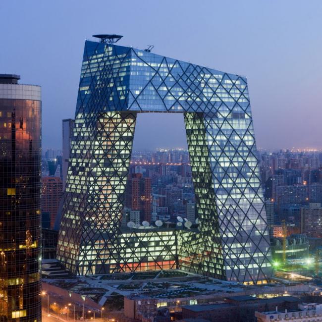 Здание Центрального Китайского Телевидения © Iwan Baan