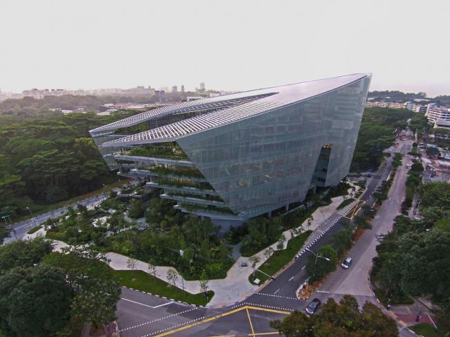 Sandcrawler – штаб-квартира Lucasfilm Singapore. Фото © DR