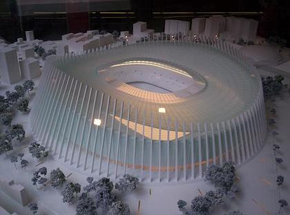 gmp. Конкурсный проект реконструкции стадиона «Камп Ноу»
