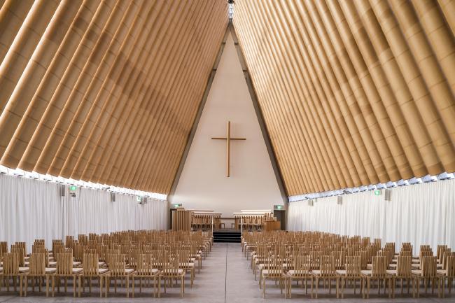 Картонный собор в Крайстчерче © Stephen Goodenough