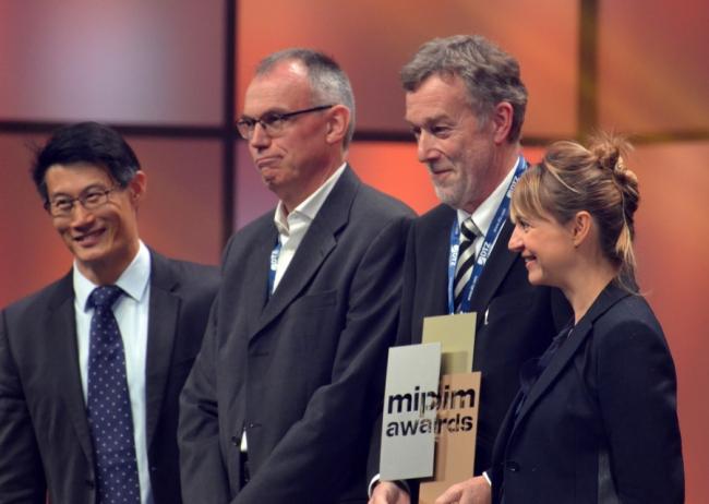 Члены жюри и обладатели премии