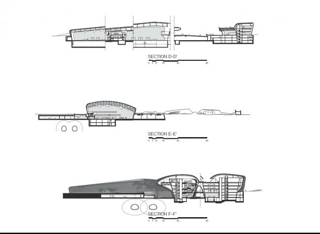 Комплекс Dongdaemun Design Park and Plaza © Zaha Hadid Architects