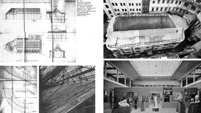 Выставочный зал московского училища живописи, ваяния и зодчества. Архивные материалы предоставлены АБ «Четвертое измерение»