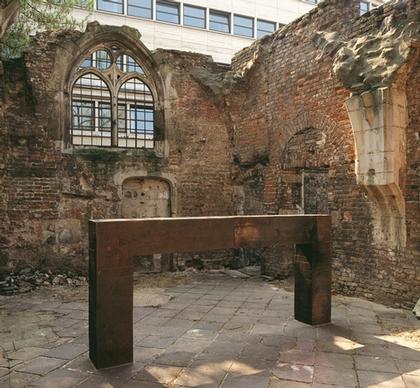 Музей кёльнского диоцеза «Колумба». Ричард Серра. «Утонувшие и спасенные»