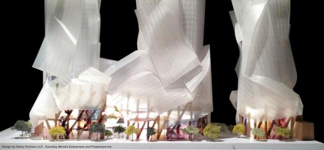 Комплекс на улице Кинг-стрит © Gehry International