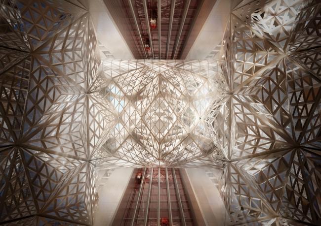 Башня City of Dreams Hotel © Zaha Hadid Architects