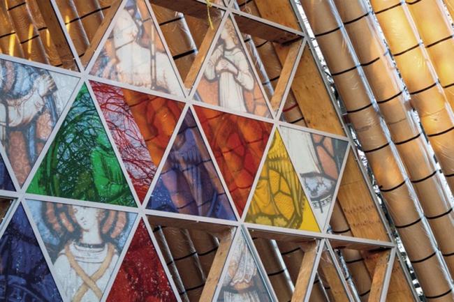 Картонный собор в Крайстчерче © ArchitectureNow