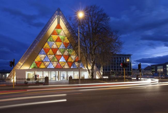 Картонный собор в Крайстчерче © Eugene Coleman