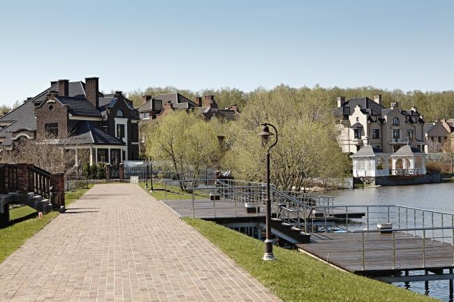 Поселок «Бельгийская деревня» © Архстройдизайн АСД