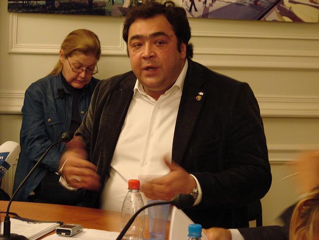 Представитель Международного союза архитекторов Андрей Кафтанов