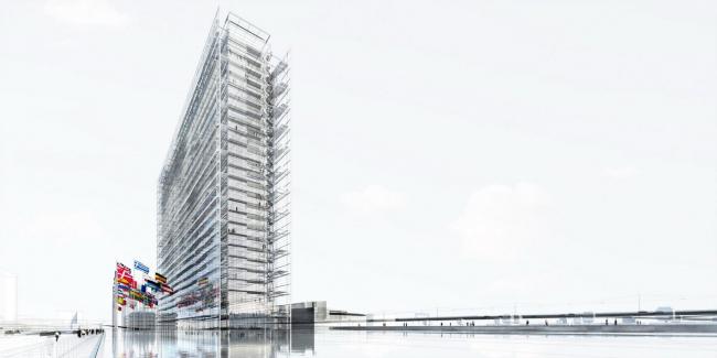 Штаб-квартира Европейского патентного ведомства © Ateliers Jean Nouvel