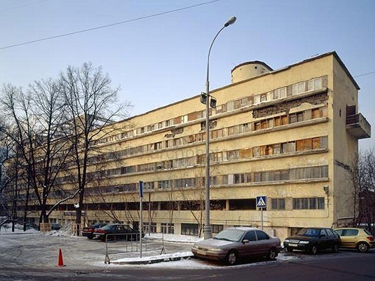 Дом Наркомфина. Фотография: sob.ru