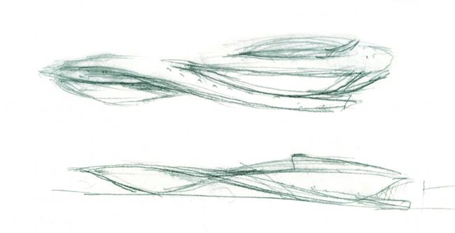 Винодельня Шато Шеваль-Блан © Atelier Christian de Portzamparc