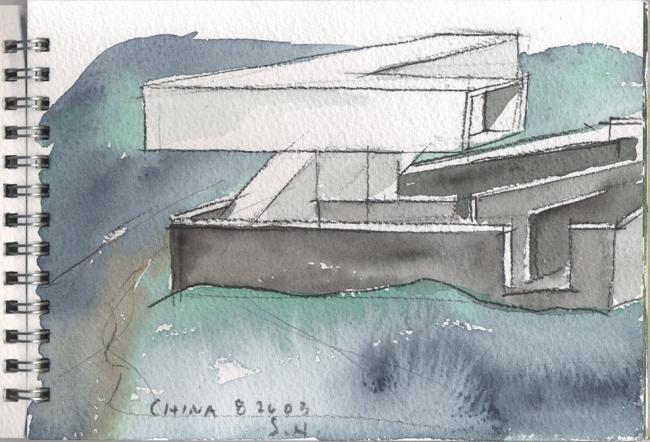 Музей искусств Сыфан © Steven Holl Architects