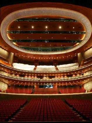 Большой народный театр Китая. Оперный зал
