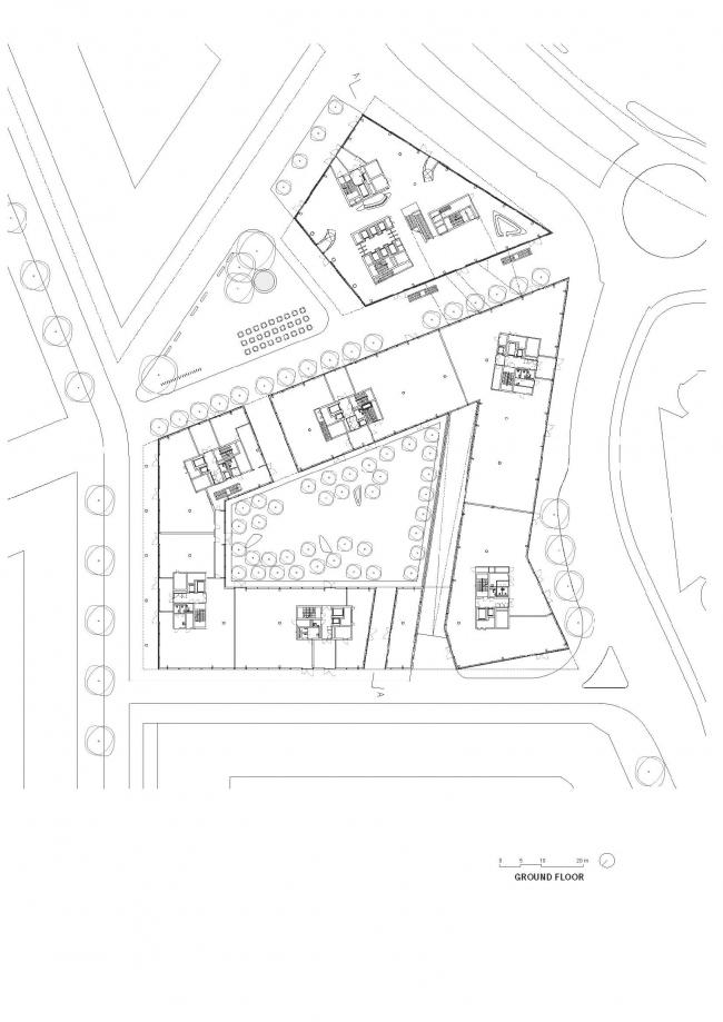 Штаб-квартира компании Allianz © Wiel Arets Architects