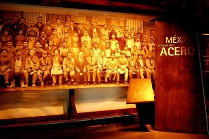 Музей стали. Вид экспозиции