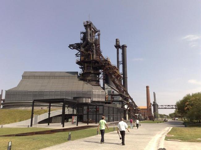 Музей стали. Фото: Wiper México via Wikimedia Commons. Лицензия CC-BY-SA-3.0