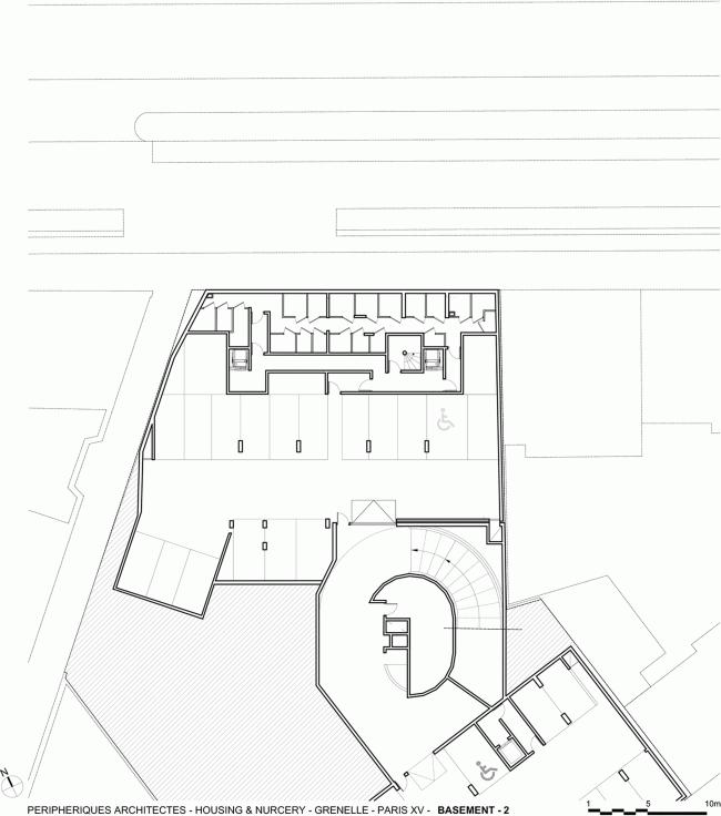 Дом Grenelle © Peripheriques Architectes