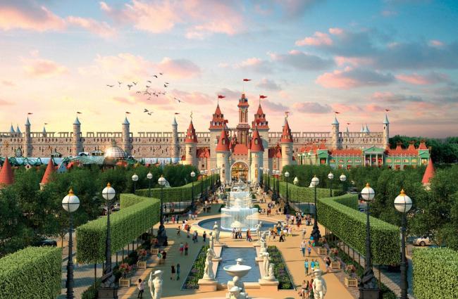 Будущий парк развлечений в Нагатино. Изображение: archsovet.msk.ru