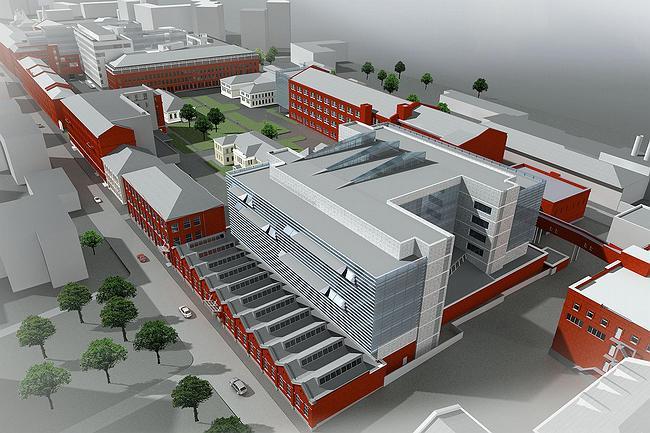 Business center 'Red Rose', Timura Frunze street, 11  town-planning concept