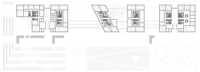 """Многофункциональный комплекс Министерства обороны Республики Казахстан © """"Студия 44"""""""