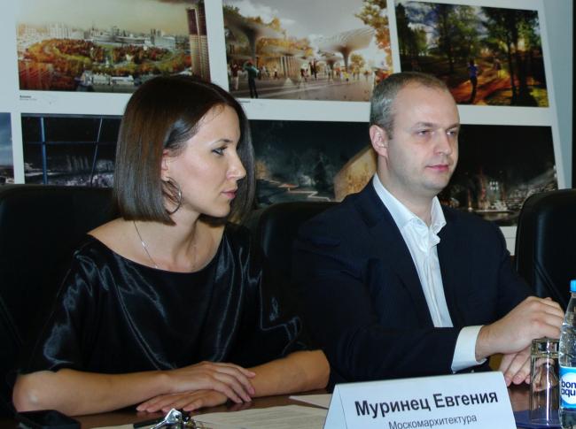 Евгения Муринец и Олег Ларин. Фотография А.Павликовой