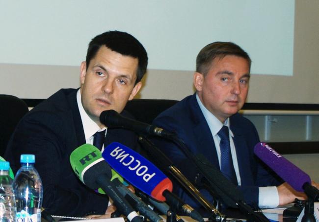 Сергей Кузнецов и Антон Кульбачевский. Фотография А.Павликовой