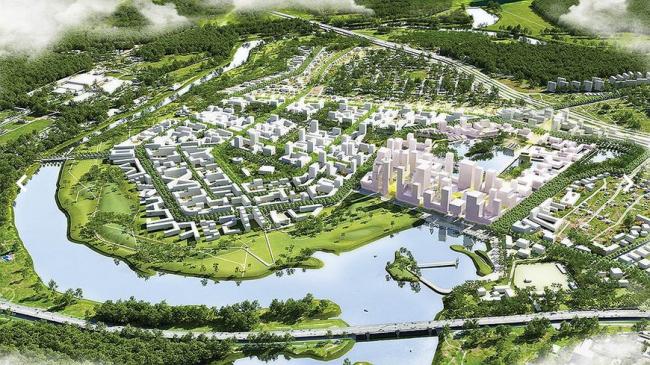 Kcap Architects&Planners, De Architecten Cie., Buro Happold, Karres En Brands Landscape Architects, Mlab, Fakton and Prospertity Project Management // Сбербанк & КБ «Стрелка»