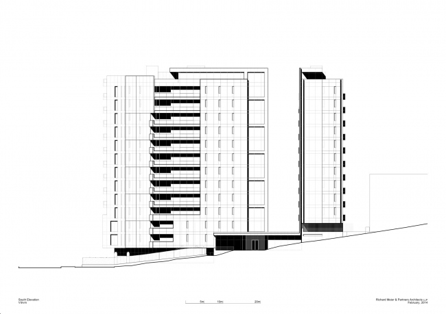 Жилой комплекс Vitrvm © Richard Meier & Partners