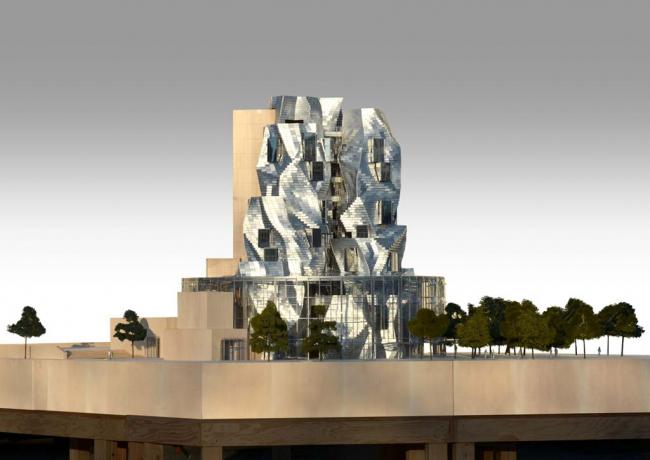 Центр художественных ресурсов на кампусе LUMA Arles © Gehry Partners