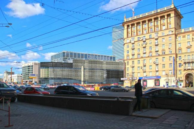 АТК на Кутузовском проспекте. Вариант 2. «Моспроект» (мастерская №3) и ТПО «Резерв»