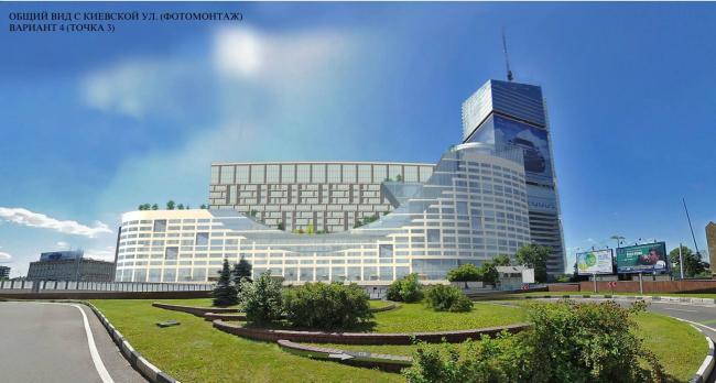 АТК на Кутузовском проспекте. Вариант 4. «Моспроект» (мастерская №3) и ТПО «Резерв»