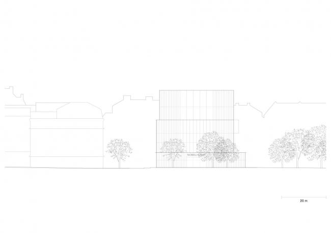 Нобелевский центр © David Chipperfield Architects
