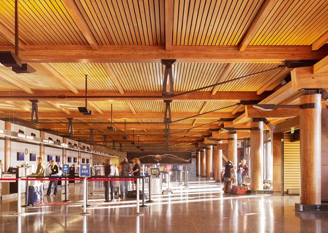 Аэропорт Джексон-Хол © Gensler / Matthew Millman