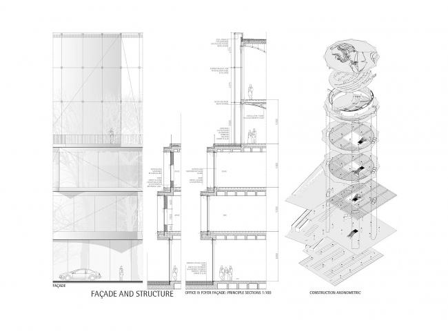 Nobel Snowflake. Проект Герта Вингорда. Третье место © Wingårdh Arkitektkontor