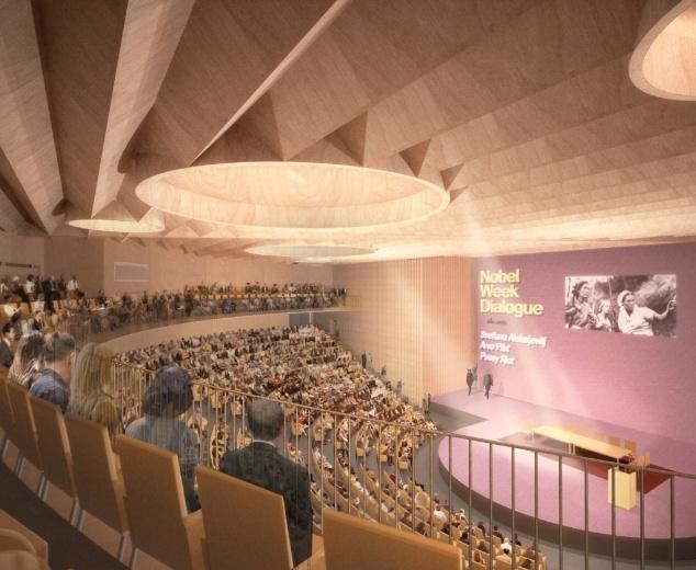 Проект Йохана Сельсинг. Второе место © Johan Celsing Arkitektkontor