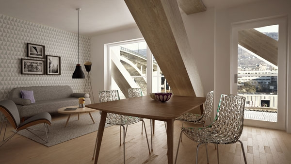 Дом Treet в Бергене. Изображение с сайта bob.no