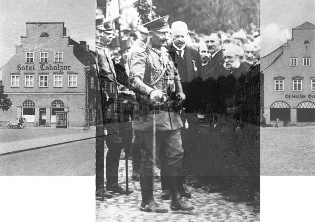 Вильгельм II в Шталлупёнене. Изображение предоставлено Дмитрием Сухиным