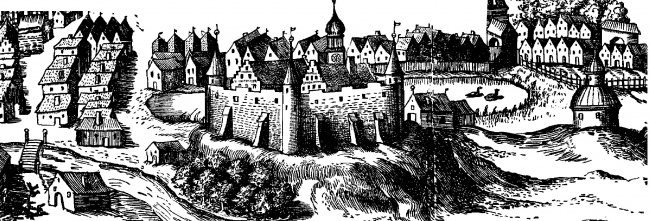 Замок Инстербург. Изображение предоставлено Дмитрием Сухиным