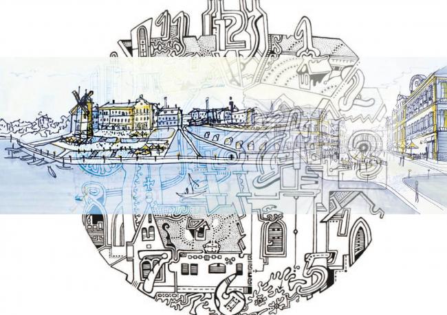 «Туристская столица области». Изображение предоставлено Дмитрием Сухиным
