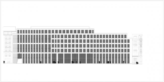 Офисное здание Tesdorpfstrasse 8 © gmp