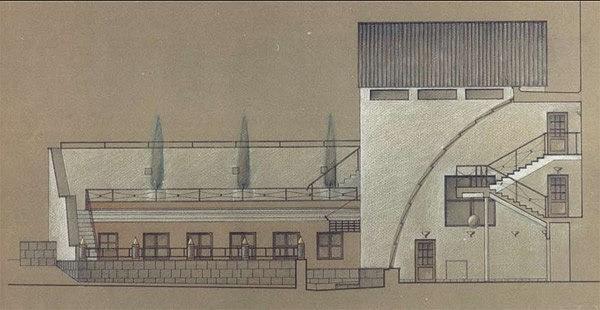 Проект реконструкции офисного здания фабрики «Ява» в Москве © Алексей Бавыкин и партнёры