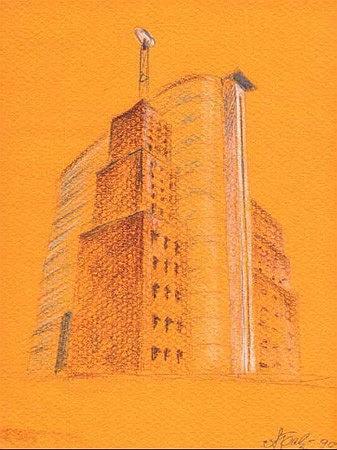 Проект здания Международного Космического университета в Москве © Алексей Бавыкин и партнёры