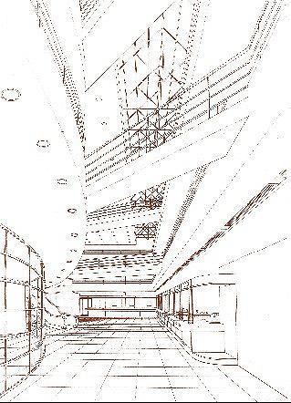 Проект здания «Диалог Банка» на Каланчевской улице © Алексей Бавыкин и партнёры